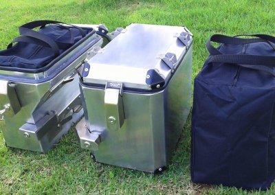 Caixas de Alumínio - Bagagem de moto