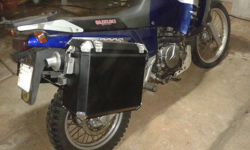 Caixas de alumínio - Suzuki - DR 800