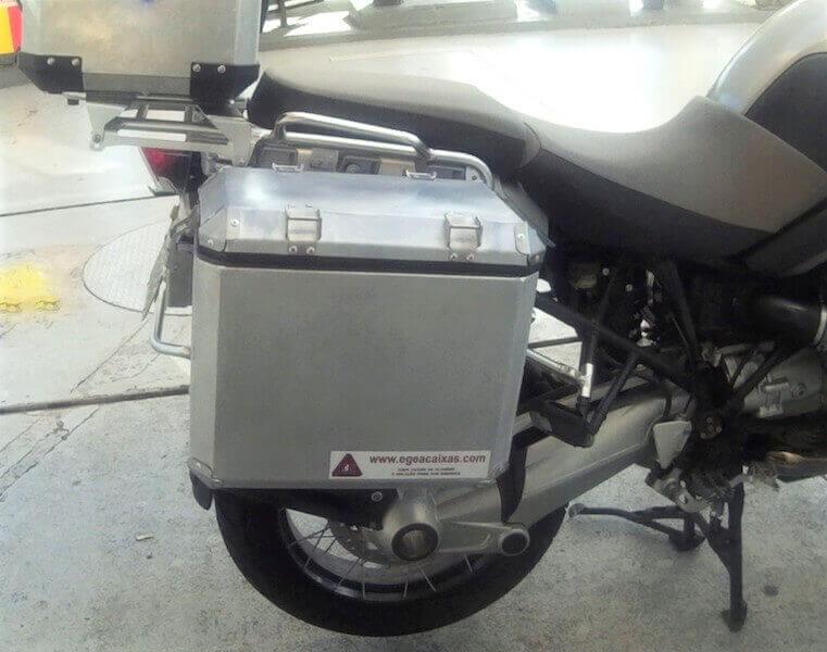 Caixas de alumínio - BMW - GSA 1200