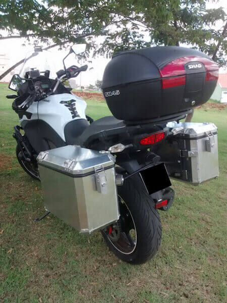 Caixas de alumínio - Kawasaki - Versys 1000